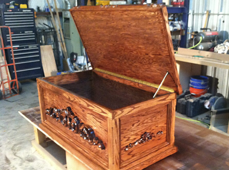 Toy box cedar chests b k woodworks remodeling